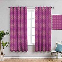 KOEWSN Kids Bedroom Curtains - Bohemian Pastel