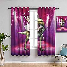 KOEWSN Kids Bedroom Curtains - Purple Beauty