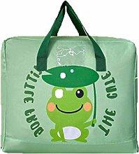 koigjh Quilt Storage Bag Dustproof Cute Cartoon