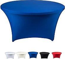 Kokomimi 72inch Round Spandex Stretch Tablecloth