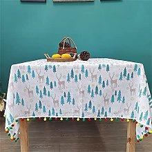 Kokomimi Christmas Table Decoration Table Cloth