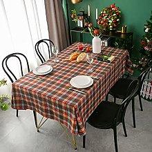 Kokomimi Classic Scottish Plaid Tablecloth