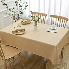 Kokomimi Thick Washable Cotton Linen Tablecloth