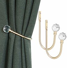 KOLAKO Curtain Holdbacks, Curtain Tieback Hooks