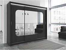 Kolby 3 Door Sliding Wardrobe Brayden Studio