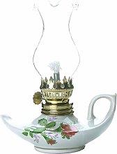 KOLIT Glass Kerosene Lamp, Retro Nostalgic Style
