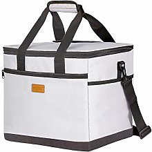 Kollea Cooler Bag, 30L Picnic Lunch Bag with Hard