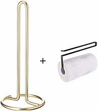 KOMANIC Kitchen Roll Holder, Paper Towel Stand,