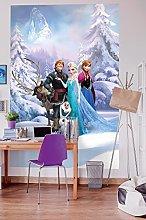 Komar 4-498 Disney Frozen Winter Land Wallpaper