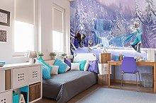Komar 8-499 Disney Frozen Forest Wallpaper