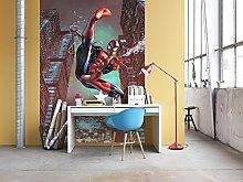 Komar Marvel Spider-Man Jump Wallpaper Mural,