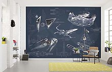Komar Star Wars Fleece Photo Wallpaper, Fleece,