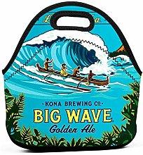 Kona Big Wave Insulated Lunch Bag Tote Picnic Box