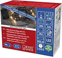 Konstsmide, 3724-800 LED Fairy Lights with On/Off