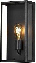 Konstsmide Carpi Outdoor Wall Light, Aluminium,
