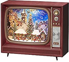 Konstsmide Christmas Decorations LED Snow Globe TV