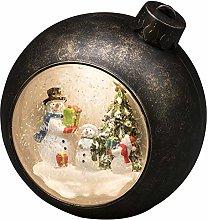 Konstsmide LED Snow Globe Snowman Scene, Water