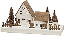 Konstsmide Lights/Silhouette House Motif with