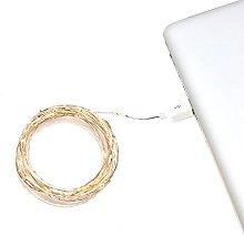 Konstsmide USB Fairy Lights/100 Amber White