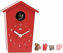KOOKOO AnimalHouse Red, striking small cuckoo