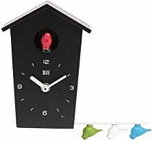 KOOKOO BirdHouse mini black, tiny modern cuckoo