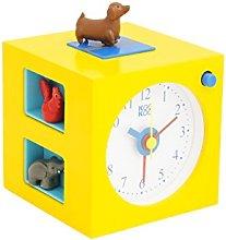 KOOKOO KidsAlarm yellow, alarm clock for children