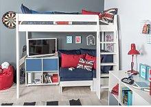 Kool European Single (90 x 200cm) High Sleeper Bed