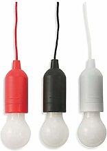 Kooper Bulb Wardrobe Lamp 1w with 3 AAA Batteries