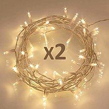 Koopower 50 LED Fairy String Lights, Battery