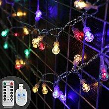 Koopower Globe String Lights 39ft/12M 96 LEDs
