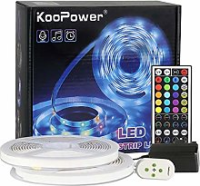 Koopower LED Strip Lights 5M RGB Colour Changing