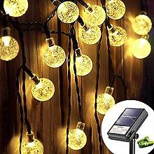 Koopower Solar Gardens String Lights 30 LED 15ft