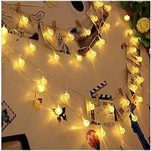 Koopower Solar Gardens String Lights 50 LED(Green