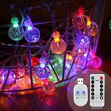 Koopower String Lights Garden, 16ft/5M 30 Crystal