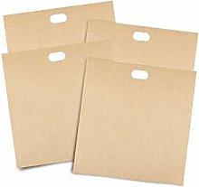 Koowaa 4pcs Teflon Non-Stick Toast Bread Bags for
