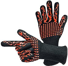KOPASD 1 pair Bbq Grilling Cooking Gloves Extreme