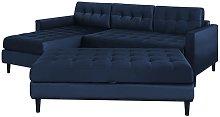 Kopenhaga - Corner Sofa Bed - Navy Blue -
