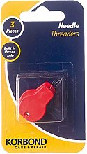 Korbond Three Pack Needle Threaders with Built in