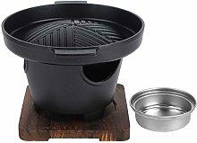 Korean Barbecue Grill Charcoal Grill Non-Stick Pan