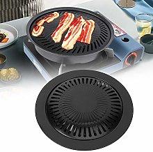 Korean BBQ Grill Pan, Nonstick Smokeless Barbeque