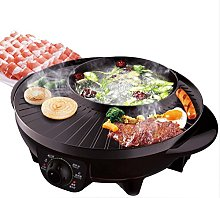 Korean Style BBQ Poke Hot Pot Dual Pot Barbecue