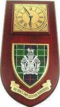 KOSB Kings Own Scottish Borderers Wall / Mess Clock