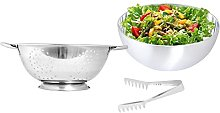 Kosma Pack of 2 Pc Stainless Steel Salad Mixing