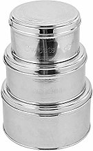 Kosma Set of 3 Stainless Steel Storage Canister