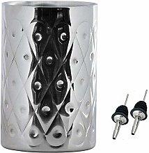 Kosma Stainless Steel Designer Wine Cooler Double