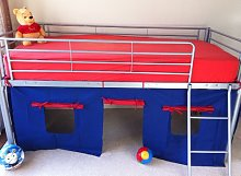 KOSY KOALA UNDER BED BLUE/RED TENT ONLY, SUITABLE