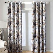 Kotile Grey Blackout Curtains for Bedroom/Living