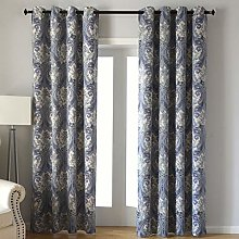 Kotile Home Decor Window Curtain for Paisley