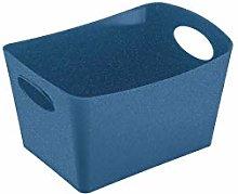 Koziol Storage bin 1l, Organic deep Blue, 18,7 x