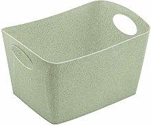 Koziol Storage bin, thermoplastic, Organic Green, S